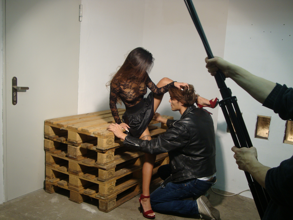 Behind the Scenes-Photo Shoot with Oliver Rath