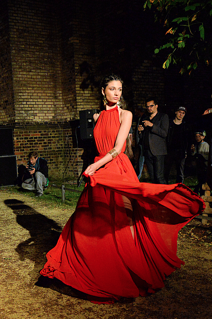 Look from designer Moni Novy by Pasquale Scerbo Sarro