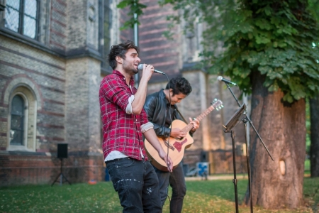 "Live performance ""Xavier & Joshua"" by NurFotos"
