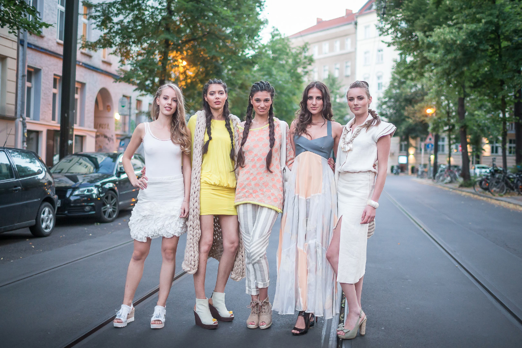 Models in collection from designer Therese Taplick by NurFotos