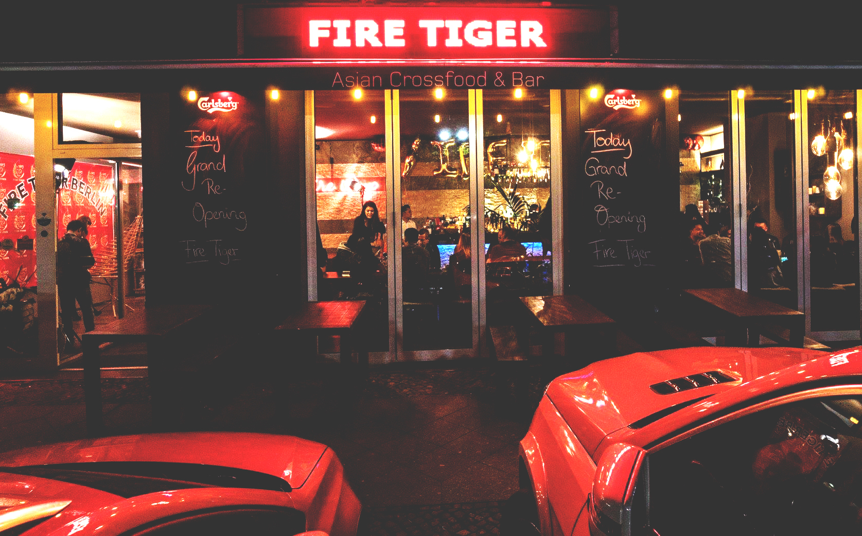 """""""The Tiger is loose in Friedrichshain."""""""